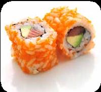 Tobiko saumon avoca